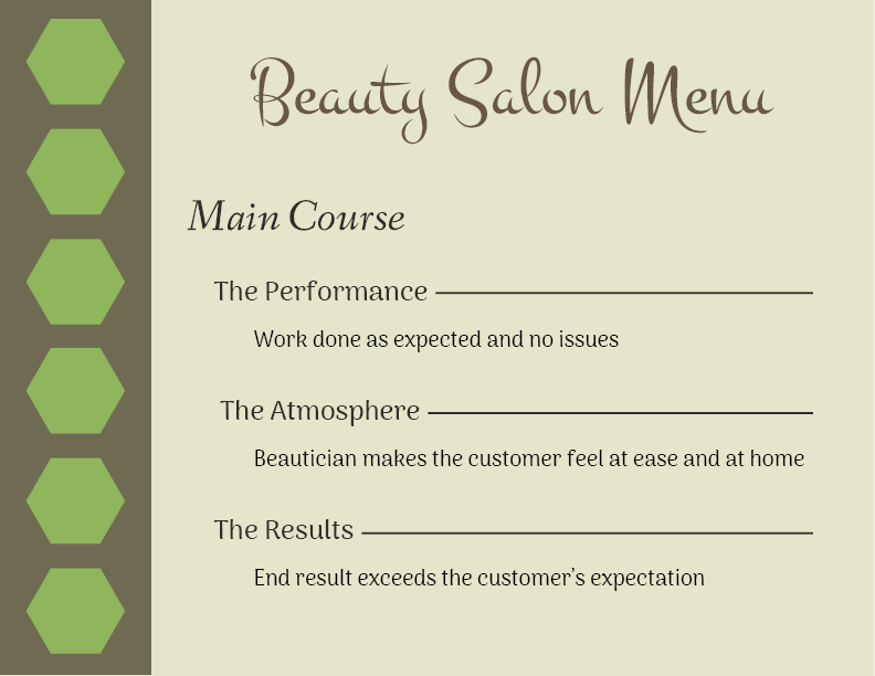Beauty Menu_MainCourse