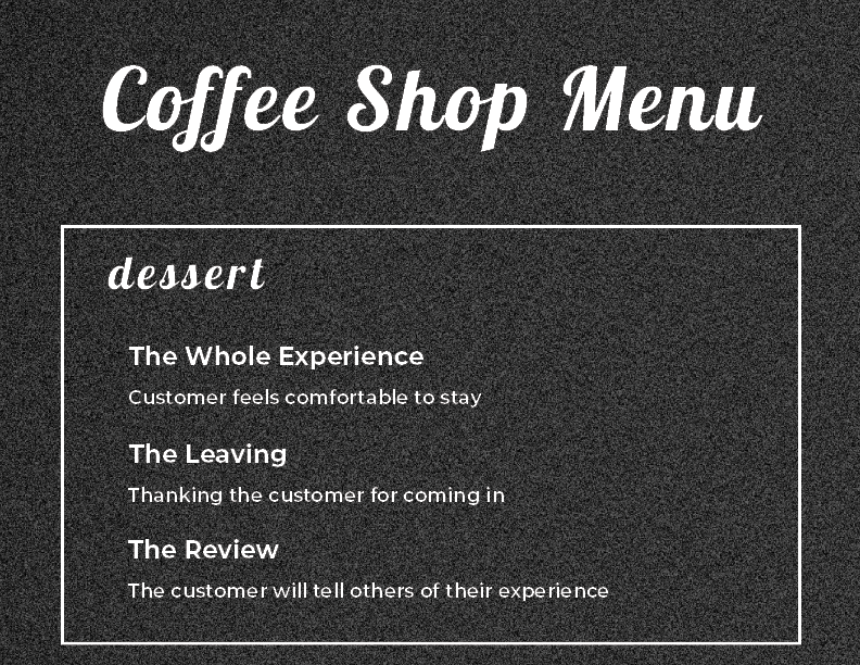 Coffee Menu_Dessert